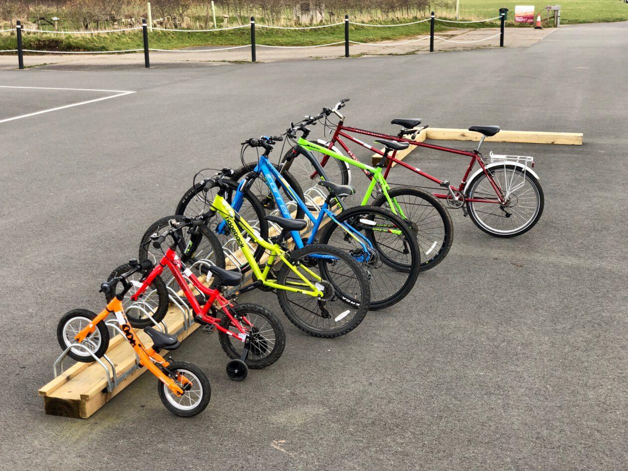 Standard two wheel bike