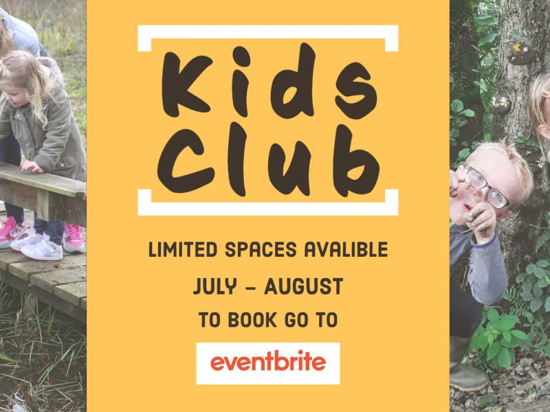Kids Club Summer Holidays
